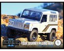 RC4WD RC4ZK0001 Gelande II Truck Kit w/Defender D90 Body Set