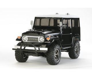 Tamiya 300058564 1:10 RC Land Cruiser 40 Black (CC-01)