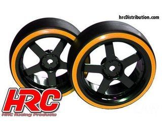 HRC HRC6101OR Driftreifen 1:10 3 mm Offset 12 mm orange