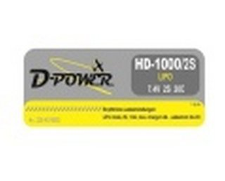 D-Power 220-HD10002 Lipo Akku 2S 30C
