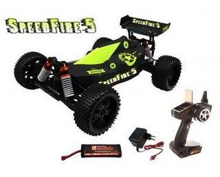 DF-3019 Speed Fire 5 RTR Brushed Buggy 1:10 XL