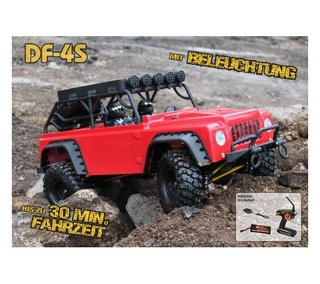 DF-3086 DF-4S Scale-Crawler mit Beleuchtung - RED Edition