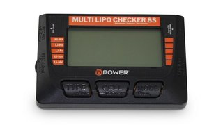 D-Power DPMLC8S Multi Lipo Checker 8S/Balancer Servotester/Akkutester